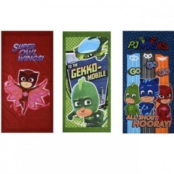 Παιδική Πετσέτα Θαλάσσης Pj Masks 6 Σχέδια (PJ62051)