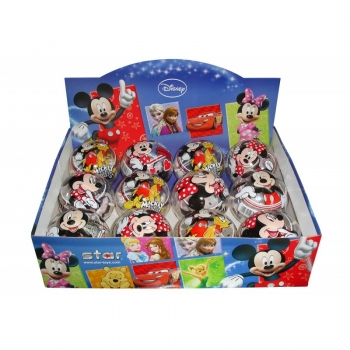 Μπάλα 11Cm Disney Mickey And Minnie Διάφανη