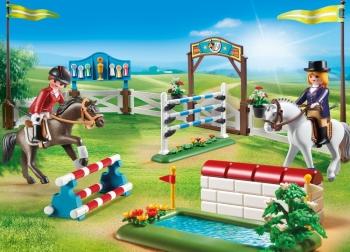 Playmobil Στίβος Ιππασίας με Εμπόδια (6930)