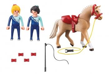 Playmobil Country Μάθημα Ακροβατικής Ιππασίας