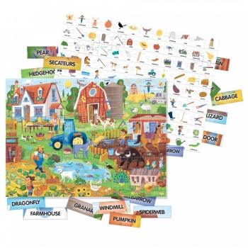 Headu Μαθαίνω Αγγλικά-Η φάρμα 100 λέξεις