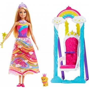 Mattel Barbie Dreamtopia Ονειρεμένη Κούνια - Θρόνος (FJD06)