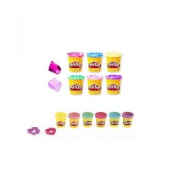 Hasbro Play-Doh Λαμπερές Δημιουργίες Sled Adventure