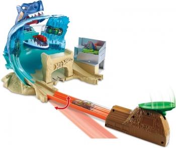 Hot Wheels Σετ Παιχνιδιού Μάχη Με Τον Καρχαρία