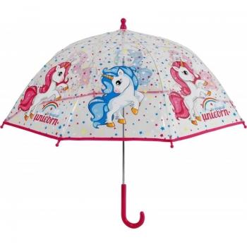Unicorn Ομπρέλα Παιδική Μονοκόμματη Απλή Με Άνοιγμα Ασφαλείας 45Cm (9419)
