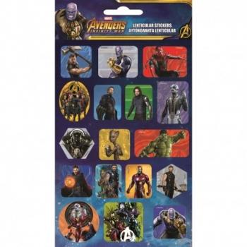 Αυτοκόλλητα GIM Avengers Lenticular Stickers