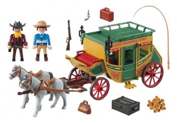 Playmobil Western Άμαξα Άγριας Δύσης