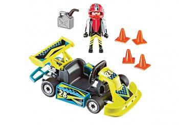 Playmobil Action Βαλιτσάκι Go-Kart