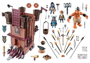 Playmobil Knights Πολιορκητικός Πύργος Νάνων