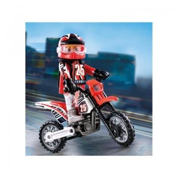 Playmobil Special Plus Οδηγός Μηχανής Motocross (9357)