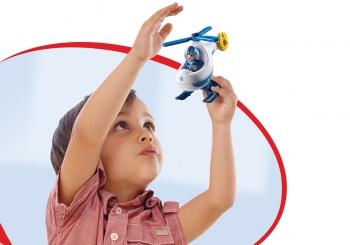 Playmobil 123 Αστυνομικό Ελικόπτερο