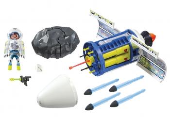 Playmobil Space Διαστημικό Κανόνι Λέιζερ Καταστροφής Μετεωριτών
