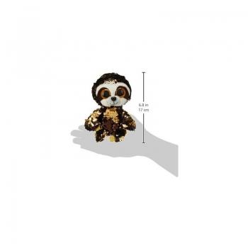 ty Flippable Dangler Sloth Χνουδωτό Sequin Βραδύπους 15 Εκ.