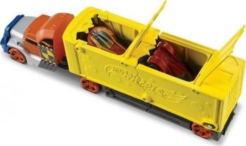Hot Wheels Deluxe Νταλίκα Με Αυτοκινητάκι