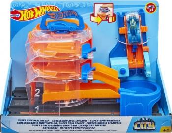 Hot Wheels Deluxe Σετ Παιχνιδιού City (FNB15)