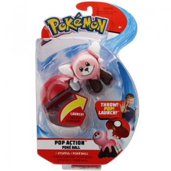 Pokemon Pop Action Poke Ball - 4 Σχέδια