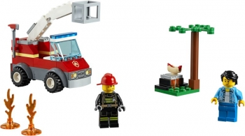 Lego City Barbecue Burn Out - Πυρκαγιά Από Μπάρμπεκιου