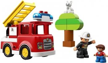 Lego Duplo Fire Truck - Πυροσβεστικό Φορτηγό