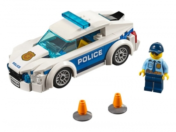 Lego City Police Patrol Car