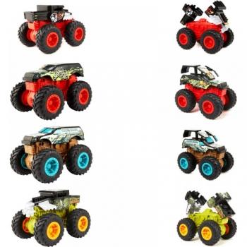 Monster Trucks Οχήματα Σύγκρουσης 1:43 - 4 Σχέδια (GCF94)