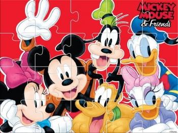 Παζλ Mickey 4 Σε 1 30x40