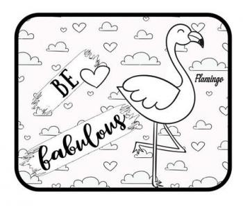 Ηλιοπροστασια Flamingo Fabulous Αυτοκίνητου 44χ36εκ Σετ 2τεμ Με Πόστερ Χρωματισμού
