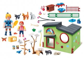 Playmobil City Life Ξενώνας Για Γατάκια