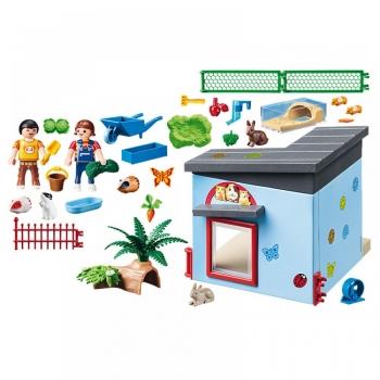 Playmobil Ξενώνας για κουνελάκια και χαμστεράκια (9277)