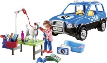 Playmobil Κινητή Μονάδα Κτηνιατρικής Φροντίδας (9278)