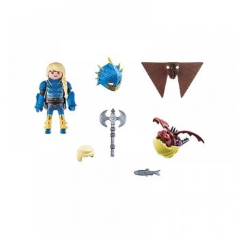 Playmobil H Άστριντ με Φτεροστολή και ο Ξωτικoμάτης (70041)