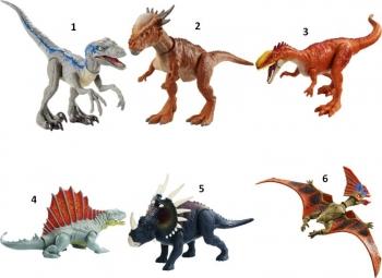 Jurassic World Βασικές Φιγούρες Δεινοσαύρων Με Σπαστά Μέλη-6 Σχέδια (GCR54)