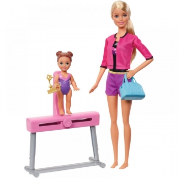 Barbie Επαγγέλματα Δασκάλα Αθλημάτων 2 σχέδια (FXP37/FXP38)