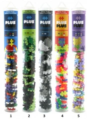 Τουβλάκια Plus Plus Basic Σε Σωλήνα 100 Τμχ (PLS04023)