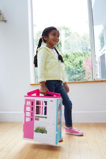 Barbie Νέο Σπιτάκι - Βαλιτσάκι