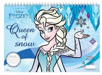 Μπλοκ Ζωγραφ Frozen Α4 30φυλ 2σχ