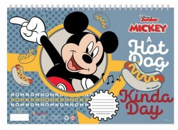 Μπλοκ Ζωγραφ Mickey Α4 30φυλ 2σχ