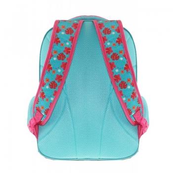 Tangled Τσάντα Πλάτης Μαλλιά Κουβάρια Ροζ 32x18x43