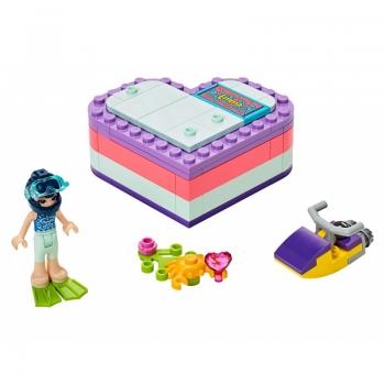 41385 LEGO Friends Emma\'s Summer Heart Box