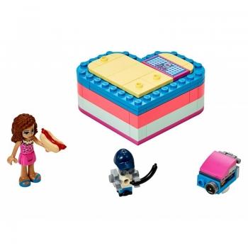 41387 LEGO Friends Olivia\'s Summer Heart Box