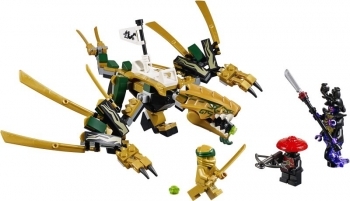 70666 Lego Ninjago The Golden Dragon - Ο Χρυσός Δράκος