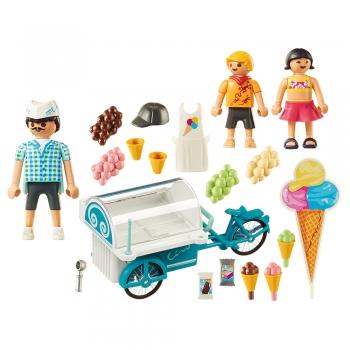 Playmobil Παγωτατζής με Ποδήλατο Ψυγείο (9426)
