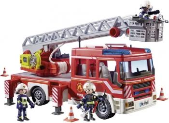 Playmobil Όχημα Πυροσβεστικής Με Σκάλα & Καλάθι Διάσωσης (9463)