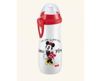 Παγουράκι Sports Cup με Καπάκι Push-Pull Σιλικόνης Mickey  450ml 36m+ NUK