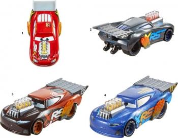 Cars XRS Αυτοκινητάκια Drag Racers-4 Σχέδια (GFV33)