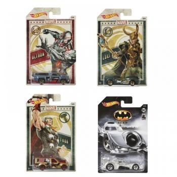 Hot Wheels Αυτοκινητάκια Ταινίες - 6 Σχέδια (GDG83)