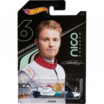 Hot Wheels Αυτοκινητάκια Nico Rosberg F1 Racer - 3 Σχέδια - 1 Τεμάχιο (GGC34)