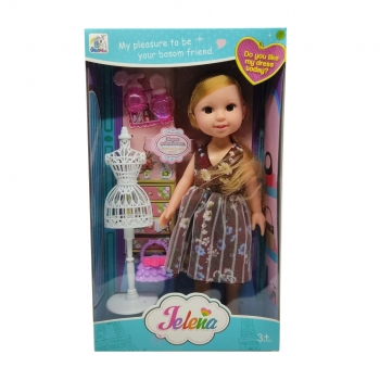 Κούκλα Jelena Με Αξεσουάρ