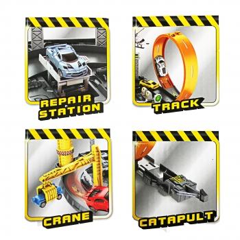 Πίστα  Γκαράζ με Loop & 4 Αυτοκίνητα