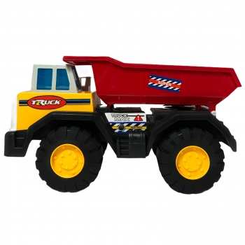 Φορτηγο Max Truck Κόκκινο Κιτρινο  38Χ20Χ20