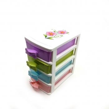 Συρταριέρα Γραφείου Πλαστική 9x12x15 Διάφορα Χρώματα